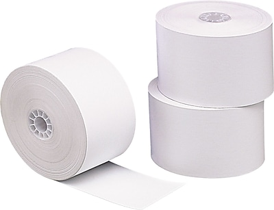 PM Company® Direct Thermal Printing Cash Register/POS Paper Roll, 1 3/4