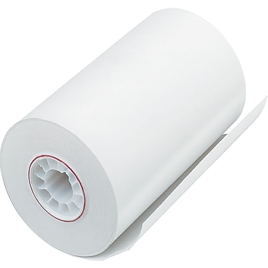 PM Company ® Direct Printing Thermal Paper Roll, White, 3 1/8