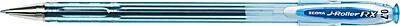 Zebra Pen J-Roller RX Gel Stick Pen, 0.7mm Medium Point, Blue Dozen