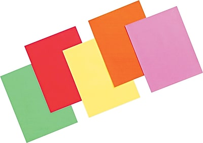 Pacon® Array® Recycled Colored Bright Paper, Assorted Colors, 24 lbs., 8 1/2