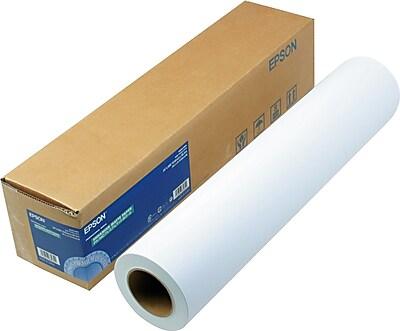 Epson® Enhanced Photo Paper Roll, Bright White, 24
