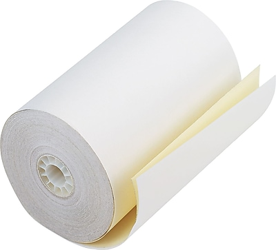 PM Company Impact Printing Carbonless Paper Roll, Assorted, 4 1/2