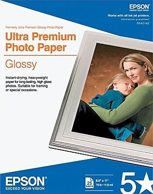 Epson Ultra Premium Glossy Photo Paper 08-1/2