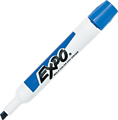 EXPO® Dry Erase Marker, Chisel Tip, Purple, Dozen