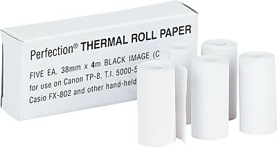 Thermal Calculator Paper Rolls, 1 1/2