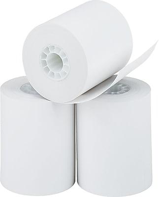 PM Company Black Image Thermal Calculator Rolls, White, 2 1/4