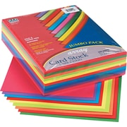 "Pacon® Array Card Stock, 8.5"" x 11"", Assorted Lively, 250 Sheets"