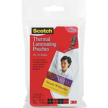 Scotch® Laminating Pouch, 5 mil, 4 1/4
