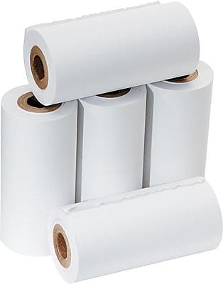 PM Company ® Impact Bond Adding Machine/Calculator Paper Roll, White, 2 1/4