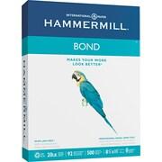 "Hammermill ® Multipurpose Bond Paper, White, 8 1/2""W x 11""L, 500/Ream"