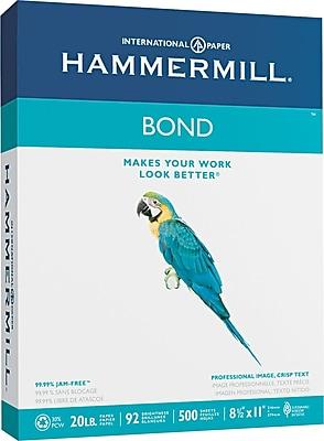 Hammermill ® Multipurpose Bond Paper, White, 8 1/2
