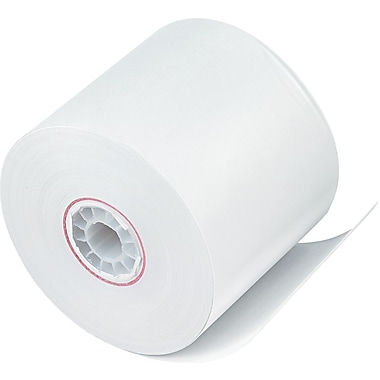 PM Company ® Impact Bond Paper Roll, White, 2 1/4