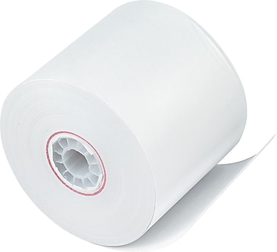 PM Company ® Impact Bond Paper Roll, White, 2 1/4
