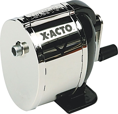 X-ACTO® L Manual Pencil Sharpener, Silver