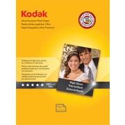 """Kodak Ultra Premium Photo Paper, White, 8 1 / 2""""(W) x 11""""(L), 25 / Pack"""