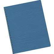 "Binding Covers, 60# Grain Texture, 11-1/4""x8-3/4, Classic Navy, 200/Pack"