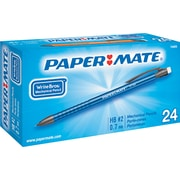 Paper Mate® Write Bros® Mechanical Pencil, HB-Soft, 0.7 mm (Dia), Assorted Barrel, 24/Pack