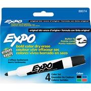 EXPO® Dry Erase Marker, Bullet Tip, Assorted, 4/Set