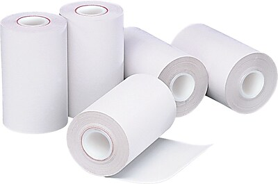 PM Company® Direct Thermal Printing Cash Register/POS Paper Roll, 2 1/4