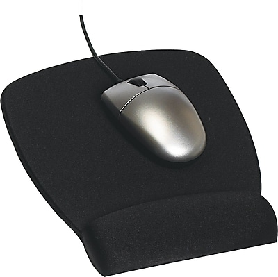 3m Antimicrobial Foam 6 3 4 Quot D Mouse Pad Black With