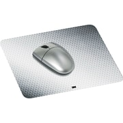 "3M Precise Mouse Pad, Nonskid Repositionable Adhesive Back, Gray, 7""(D)"