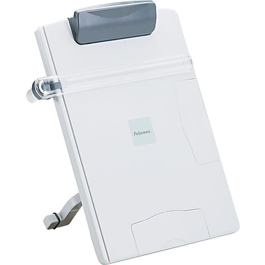 Fellowes ® Desktop Easel-Style Copyholder, Platinum/Graphite, 12 3/4
