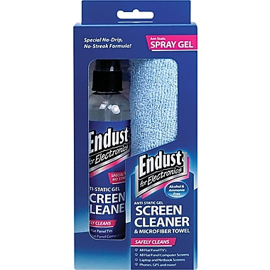 Endust® LCD/Plasma Cleaning Gel Spray, Clean Scent, 6 oz. Pump Spray