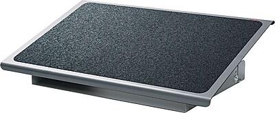 3M Adjustable Steel Footrest, Black / Charcoal, 4 - 4 3 / 4