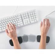 ComfortMakers® Memory Foam Rolling Wrist Rest, Black