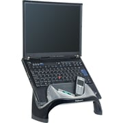 "Fellowes® Smart Suites™ Laptop Riser With USB, Black, 7 1/2""(H) x 13 1/8""(W) x 10 5/8""(D)"