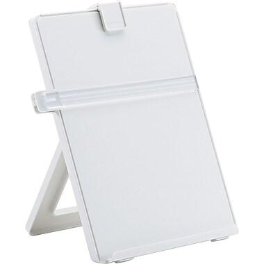 Fellowes ® Non-Magnetic Desktop Copyholder, Platinum, 11 1/4