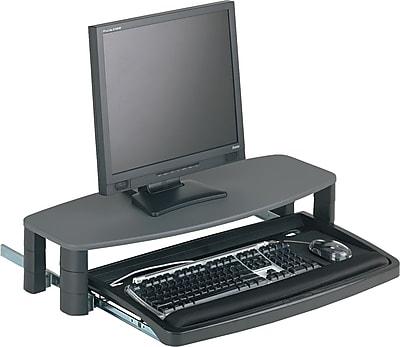 Kensington ® Over/Under Keyboard Drawer With SmartFit ® System, Black, 14 1/2