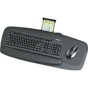 "Safco  Premier Series Keyboard Platform, Black, 27""(W) x 11 1/2""(D)"