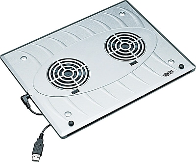 Tripp Lite Notebook Cooling Pad, Silver, 1/2