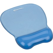 "Innovera® Gel Mouse Pad With Wrist Rest, Blue, 9 5/8""(D)"