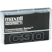 Maxell  Standard Normal Bias Dictation And Audio Cassette, 90 min (45 x 2)