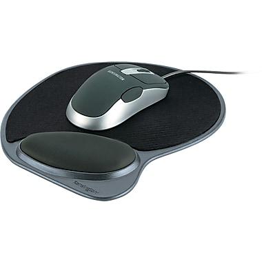 Kensington® Wrist Pillow® Memory Foam Mouse Pad With Wrist Rest, Black