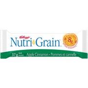 Kellogg's - Barre de céréales NutriGrain, pommes à la cannelle