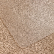 "ClearTex Clear Polycarbonate Floormat, Low/Medium Pile Carpet, No Lip, Rectangle, 35"" x 47"""