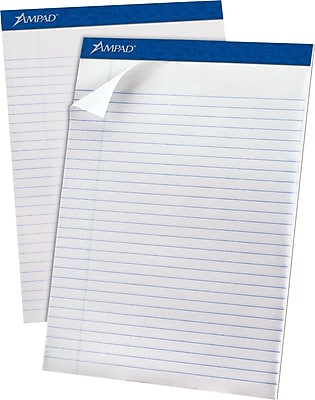 Ampad® Evidence® Ruled Pad 8-1/2x11-3/4