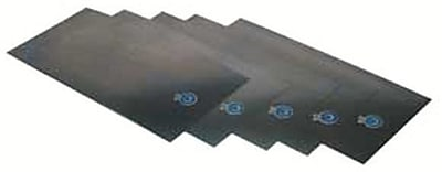 Precision Brand® Plain Low Carbon Steel Shim Stock Flat Sheet, 0.007