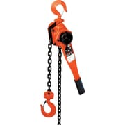 Jet® Tools JLP Series Powder Coat Steel Lever Hoist, 6.6 in (H) x 8.2 in (W) x 20.4 in (L)
