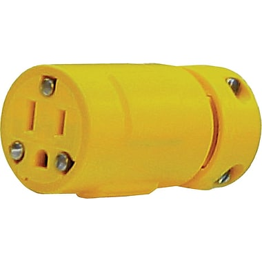 Super-Safeway® Rubber Standard Duty Insulated Connector, 0.335 - 0.64 in Conductor, 125 V, 15 A