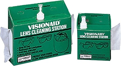 Bouton® Lens Tissue Disposable Dispensers, Heavy Duty Anti-Fog, 16 oz. Liquid Cleaner, 1520 Tissues