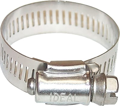 Combo-Hex® 201/301 Stainless Steel 64 Worm Gear Drive Hose Clamp, 3/4 - 1 3/4 in Capacity