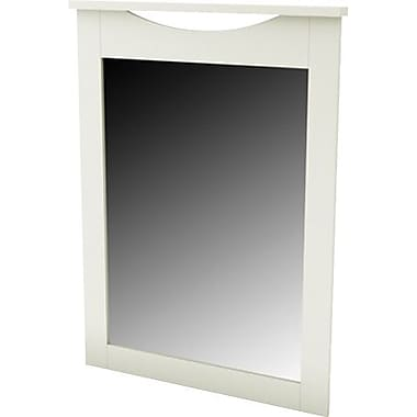 South Shore City Life Collection Mirror, White