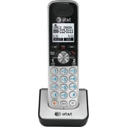 AT&T TL88002 2-Line Cordless Expansion Handset for VTech TL88102, Black/Silver