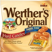 Werther's Original Sugar Free Hard Candies, Caramel, 2.75 Oz. (SUL831498)