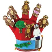 Finger Play Fun Glove Puppets, Monkeys on the Bed