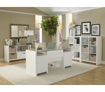 Kathy Ireland® by Bush® New York Skyline Complete Office Bundles